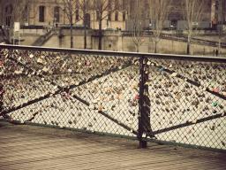 Cadenas du pont des Arts