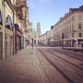 Orléans, ville morte