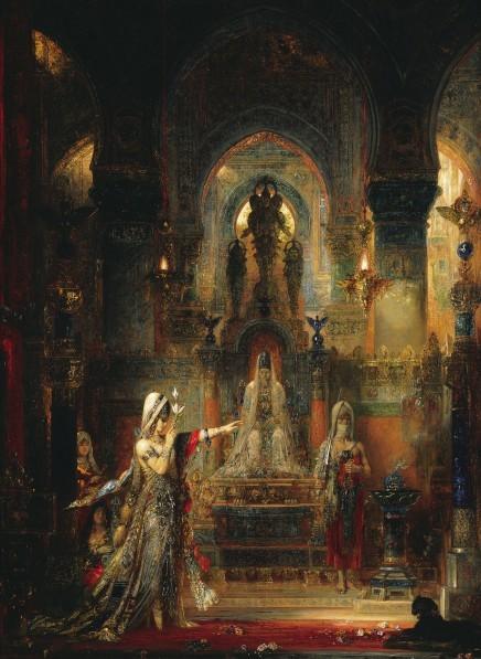 Gustave-Moreau-Salome-dansant-devant-Herode