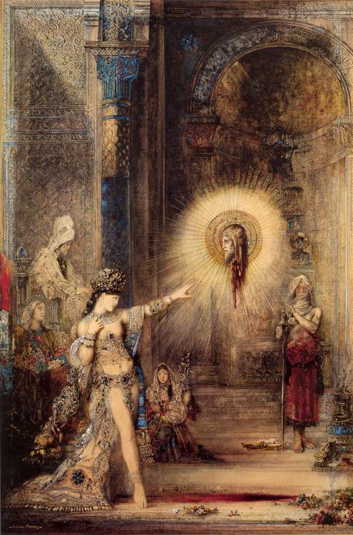 Gustave Moreau - L'Apparition (Louvre)