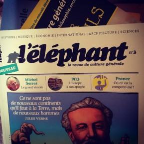 L'Éléphant, la revue de culturegénérale