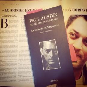 La Solitude du labyrinthe de Paul Auster et Gérard deCortanze