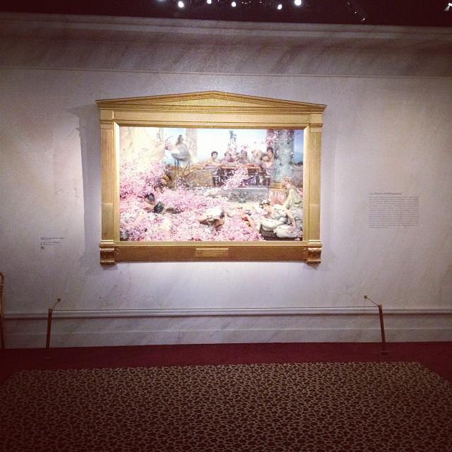Sir Lawrence Alma-Tadema, Les Roses d'Heliogabale (1888)