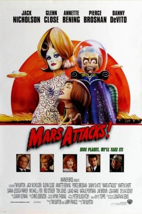 Mars Attacks, de TimBurton