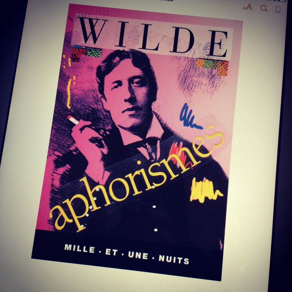 Oscar Wilde Aphorismes