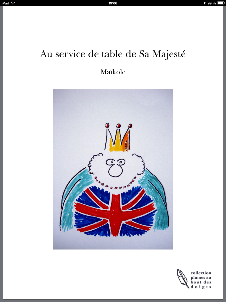 Au service de table de sa majesté