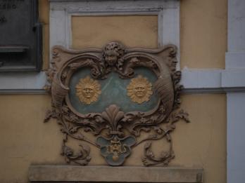 Maison aux deux soleils, maison natale de Jan Neruda