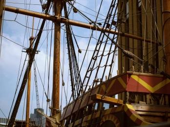 Sir Francis Drake's boat