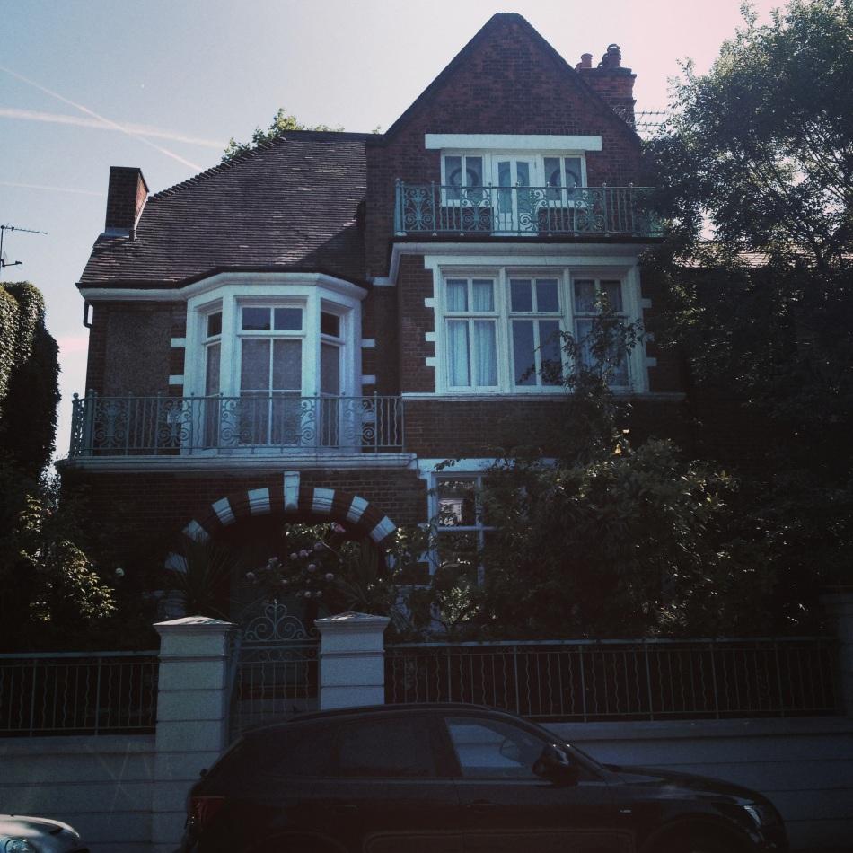 Barrie's house