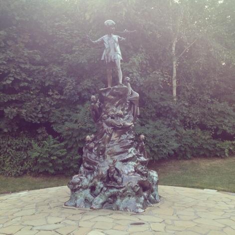 Statue de Peter Pan