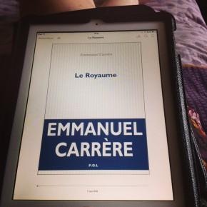 Le Royaume, d'Emmanuel Carrère