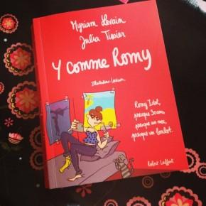 Y comme Romy, de Myriam Levain, Julia Tissier etLouison