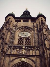 prague, cathédrale saint Guy