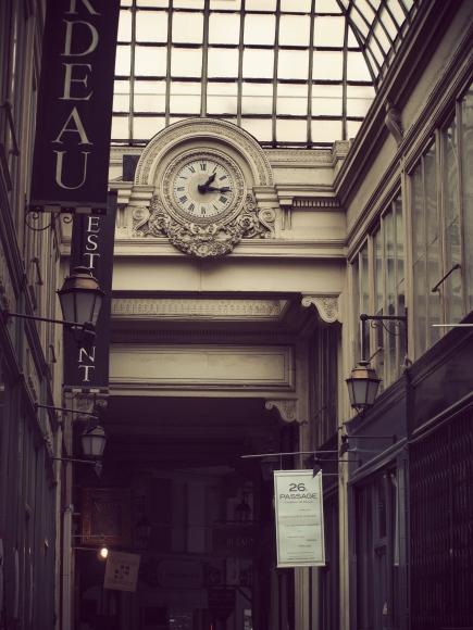 Paris, passage Verdeau