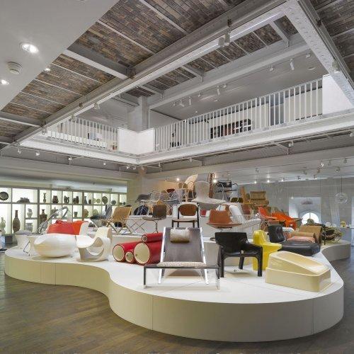 Les assises du siège contemporain © Les Arts Décoratifs