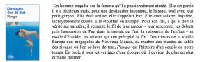 Plonger, de Christophe Ono-Dit-Biot[concours]