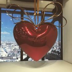 "Celebration - ""Hanging heart (red/gold)"" //1994-2000"
