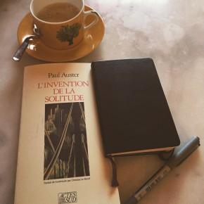 L'Invention de la solitude, de PaulAuster