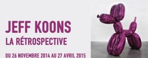 Rétrospective Jeff Koons, àBeaubourg