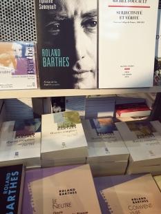 Barthes, star au Seuil