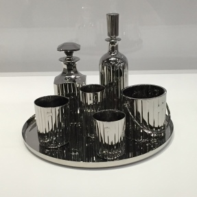 "Luxury and degradation - ""Baccarat Crystal Cocktail Service Set"" // 1986"