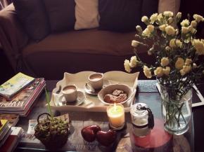 Coffee table : une table basse chaleureuse etaccueillante