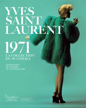 Yves Saint Laurent 1971 – La collection du scandale, à la fondation Pierre Bergé-Yves Saint Laurent