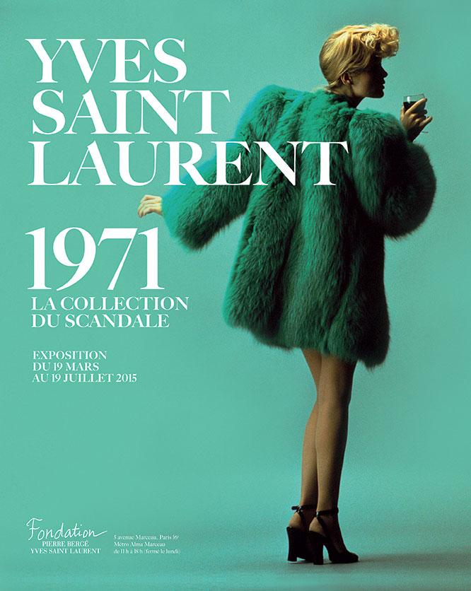 affiche_yves_saint_laurent_1971