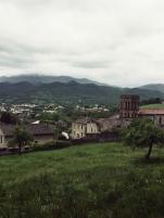 Vue de la ville depuis le Palais des évêques