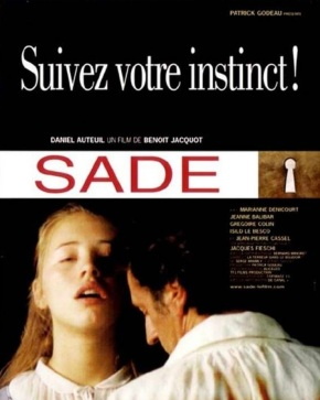 Sade, de BenoîtJacquot