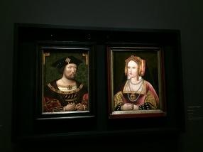 Anonyme - portraits d'Henry VIII et de Catherine d'Aragon