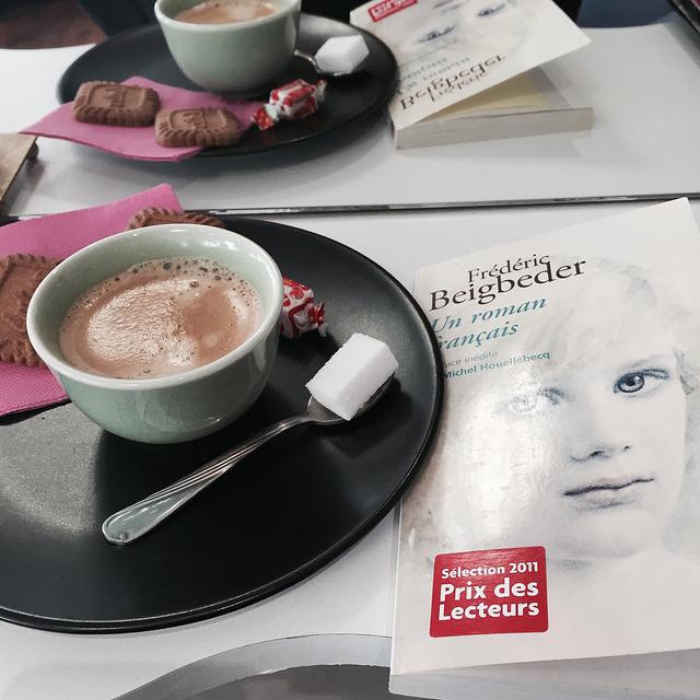 un roman français