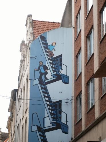 Un petit bout de Tintin