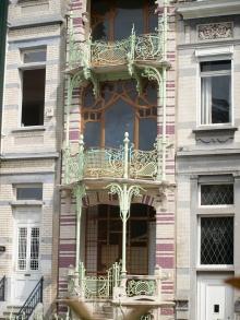 Maison du peintre de Saint-Cyr (square Ambiorix)