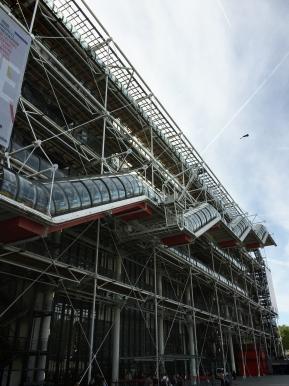 Nouvel accrochage des collections d'art moderne àBeaubourg