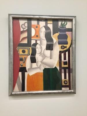 Fernand Léger, les deux femmes debout