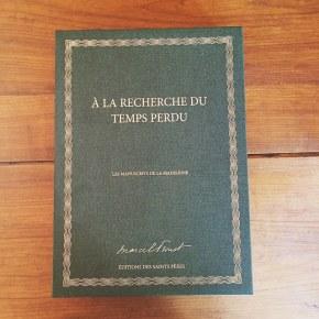 Les manuscrits de la madeleine de Marcel Proust, aux éditions des SaintsPères