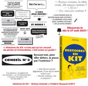 Histoires en kit, de Jérémy Colombi et FrédéricBouquet