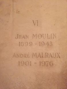 Jean Moulin et André Malraux