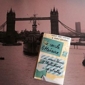Le Cercle littéraire des amateurs d'épluchures de patates, de Mary Ann Shaffer et AnnieBarrows