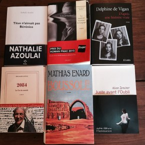 Bilan des prix littéraires d'automne2015