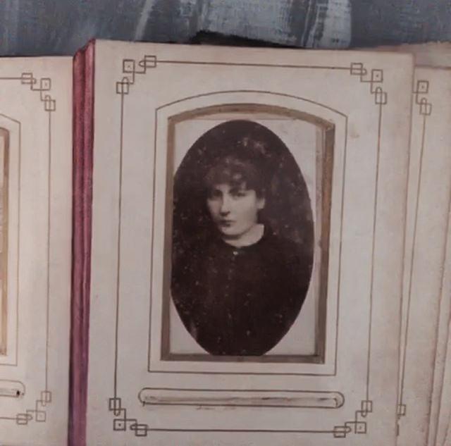Femme sur la photo