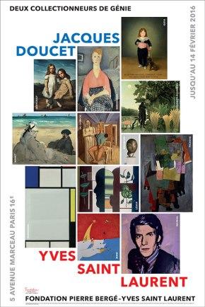 Jacques Doucet – Yves Saint Laurent : Vivre pour l'art, à la fondation Pierre Bergé Yves SaintLaurent