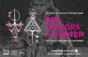 Des trésors à porter, bijoux et parures du Maghreb à l'Institut du MondeArabe