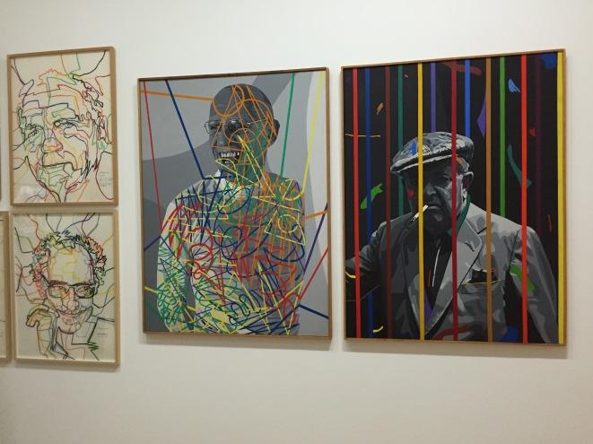 Gérard Fromanger, Alain Jouffroy / Jean-Luc Godard / Michel Foucault / Jacques Prévert