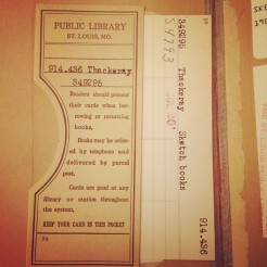 Thackeray vintage