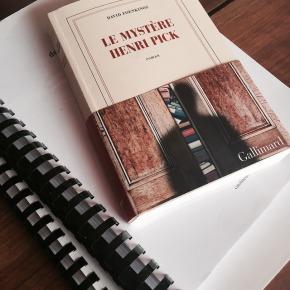 Le Mystère Henri Pick, de DavidFoenkinos