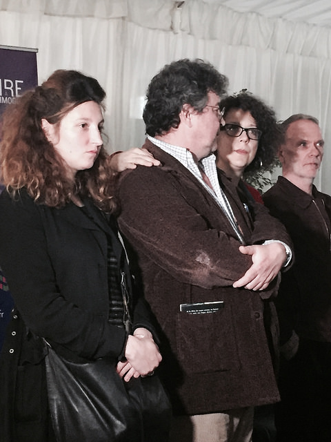 Les enfants de Régine Deforges : Léa Wiazemski, Franck Spenger, Camille Deforges