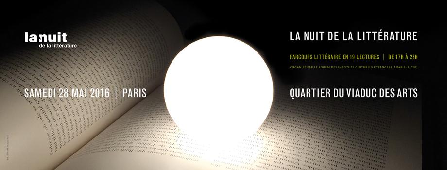 nuit de la littérature © SR
