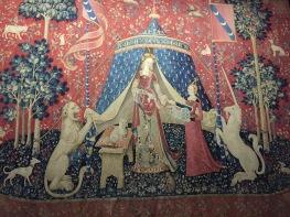 """Tapisserie de la Dame à la Licorne - """"Mon seul désir"""""""